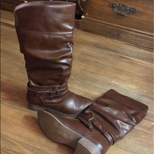 Brown SO Knee High Boots